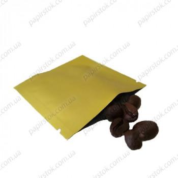 Дой-пак саше для пробників золото 70х70 з насічками