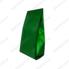 Дой-пак зелёный 90х320х30 с центральным швом