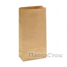 Пакет  190х115х405 двухслойный коричневый(импорт)