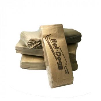 Пакет коричневый 70х40х180 Хот-Дог, саше (100 шт./уп.)