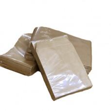 Пакет коричневий 110х0х155 для монет (100 шт./уп.)