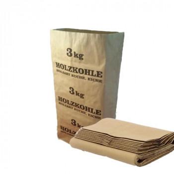 Мешок бумаж.2-слой., корич. 540х400х120 3 кг с печатью
