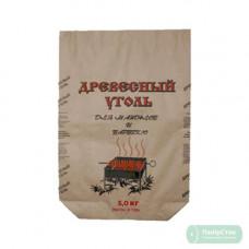 Мешок бумаж.2-слой., корич. 630х495х130 5 кг с печатью