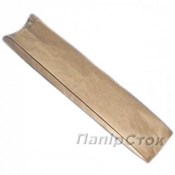 Пакет коричневый 100х40х570 ламинированный