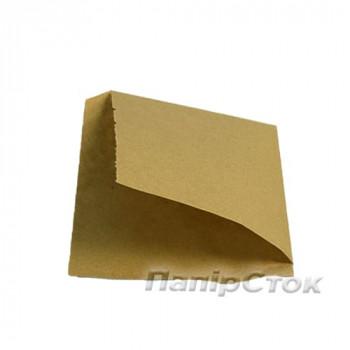 Уголок коричневый 150х140