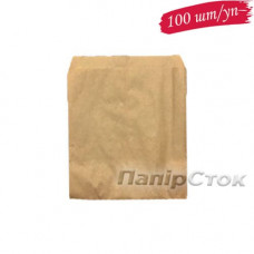 Пакет коричневий 130х0х165 (100 шт./уп.)