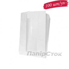 Пакет бумажный 140х50х250 окно 40 мм (100 шт./уп.)