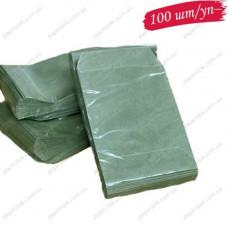 Пакет оливковый 110х0х155 для мелочи(100 шт/уп)