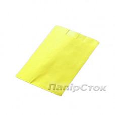 Пакет бумажный желтый 100х40х110