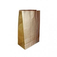 Пакет коричневий 190х120х390  - image