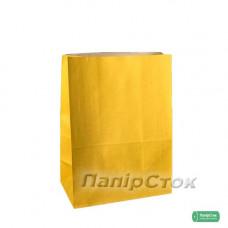 Пакет 190х115х280 жовтий
