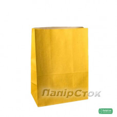 Пакет 190х115х280 желтый