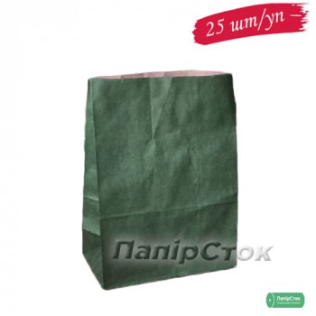 Пакет 190х115х280 темно оливковый (25 шт./уп.)