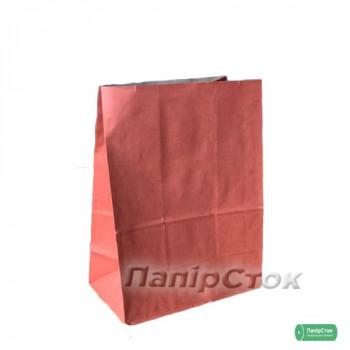 Пакет 190х115х280 красный