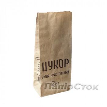 Пакет коричневый 130х80х310 2кг Сахар