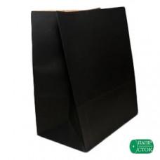 Пакет 280х130х380 чёрный - image
