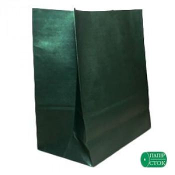 Пакет 280х130х380 зелёный