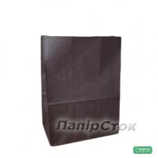 Пакет 190х115х280 шоколадний