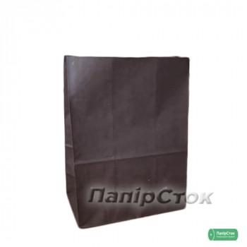 Пакет 190х115х280 шоколадный