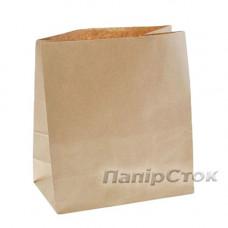 Пакет 350х140х400 коричневый - image