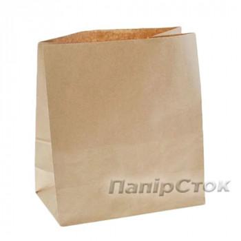 Пакет 350х140х400 коричневый