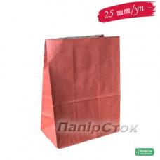 Пакет 190х115х280 красный (25 шт./уп.)