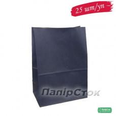 Пакет 190х115х280 синій (25 шт./уп.)