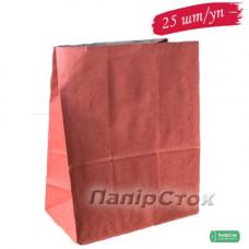 Пакет 280х130х380 красный (25 шт./уп.) - image