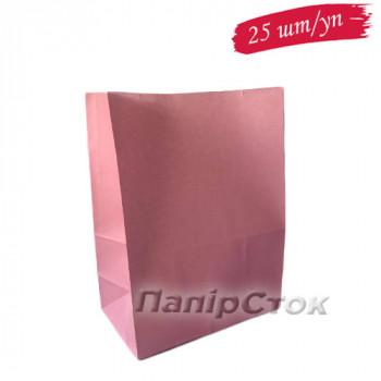 Пакет розовый 190х115х280 (25 шт/уп.)