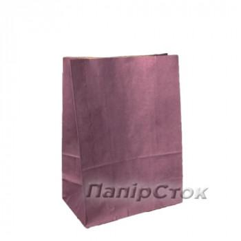 Пакет 190х115х280 фиолетовый