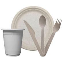Биоразлагаемая посуда - image