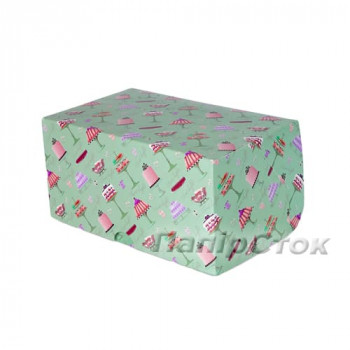 Коробка 160х100х80 квадр. цветн.