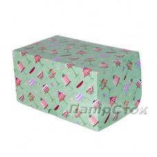 Коробка 210х150х100 квадр. цветн.