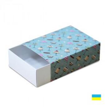 Коробка-пенал цвет. 155х115х50