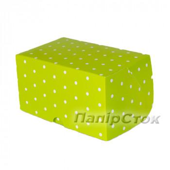 Коробка 180х120х80 квадр. зелен.гор.