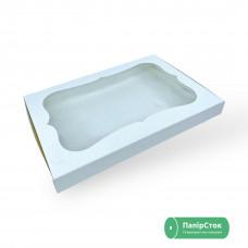 Коробка под пряник 300х200х30 без вставки мелов. картон 2 ч. - image