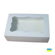 Коробка под кекс 250х170х60 без вставки мелов.картон 1ч. - image