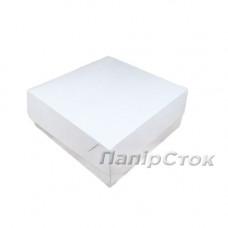 Коробка под кекс 250х250х90 со вставкиами мелов.картон 2ч. - image