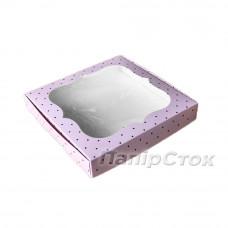 Коробка для пряника Стиль 200х200х30 без вставки