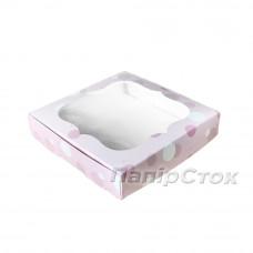 Коробка для пряника Нежность 200х200х30 без вставки
