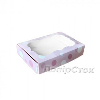 Коробка для пряника Нежность 100х150х30 без вставки