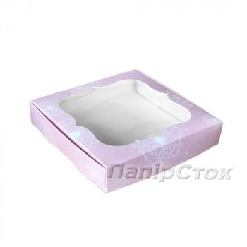 Коробка для пряника Одуванчик 200х200х30 без вставки