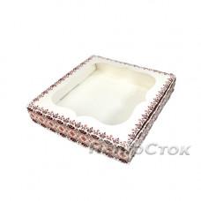 Коробка для пряника Вышиванка 150х150х30 без вставки