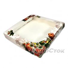 Коробка для пряника Калина 200х200х30 без вставки