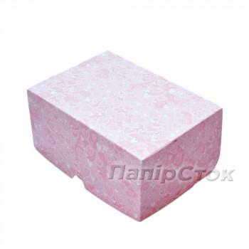 Коробка СЕРДЦА РОЗОВЫЕ 170х120х80