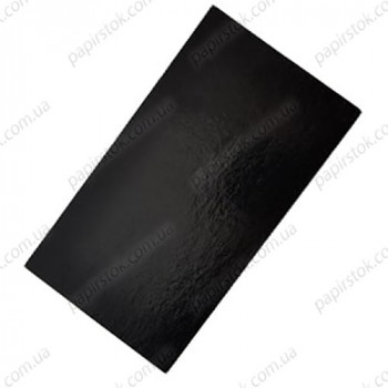 Подложка прямоугольная 30х40 черная (10 шт./уп.)