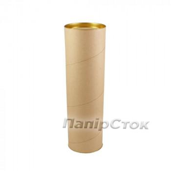 Картонный тубус (450х76 мм) с крышкой