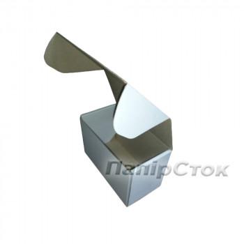 Коробка с микрогофр. белая 160х85х110 самосборная