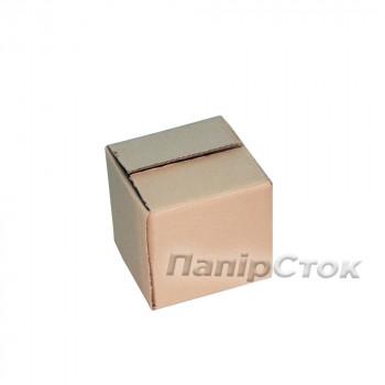 Коробка 3-х слойная 100х100х100 самозборная