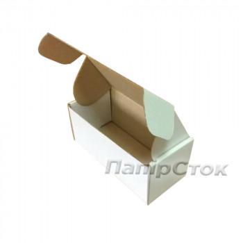 Коробка с микрогофр. белая 150х70х60 самосборная